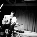 Willy Mason at the OX4 open mic, Green Street Bindery