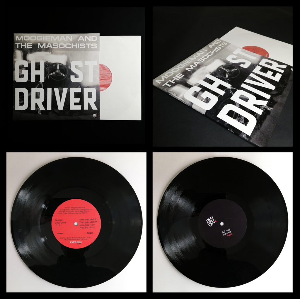 Ghost Driver 10inch vinyl jacket and record