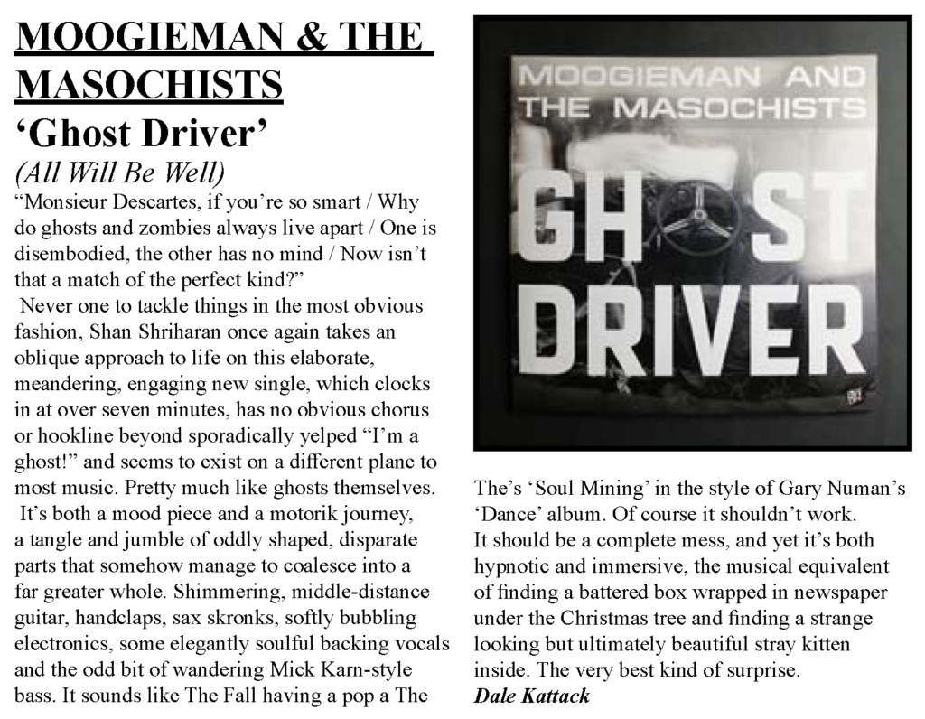 Nightshift Nov 2109 Ghost Driver review