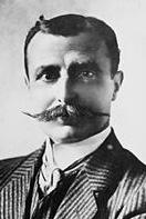Louis Bleriot with resplendent moustache